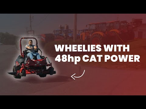 Ferris IS6200 with 48hp CAT Power Picture
