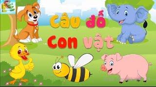 Câu đố vui cho bé về con vật | đố bé con gì dạy bé học con vật tiếng việt | Giáo dục trẻ em ECE 1