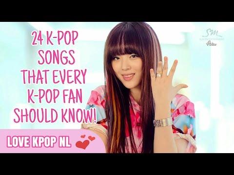 24 K-POP Song That Every K-Pop Fan Should Know!