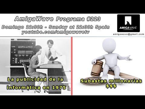 AmigaWave #223 - Publicidad informática de 1975, Workbench RAD y premios de concurso navidad 2020.
