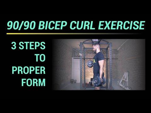 90/90 Bicep Curl