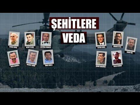 NTV | Bitlis'te şehit olan kahramanlara veda