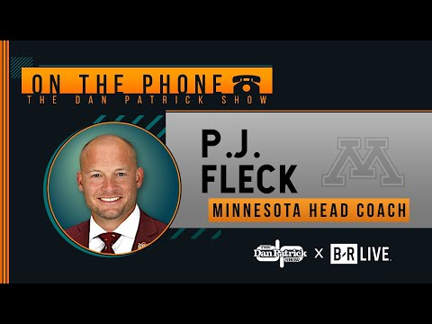Minnesota HC P.J. Fleck Talks CFP Rankings and More with Dan Patrick | Full Interview | 11/13/19