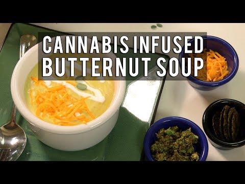 Savory Cannabis Butternut Cream Soup Recipe: Infused Eats #51