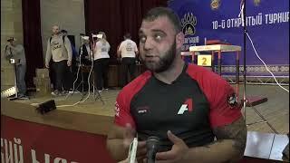 Григорий Лящук поделился впечатлениями от турнира «Сибирский медведь»