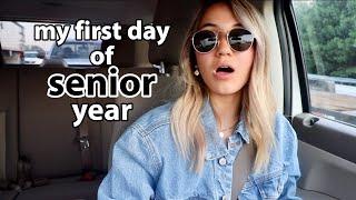 first day of school senior year