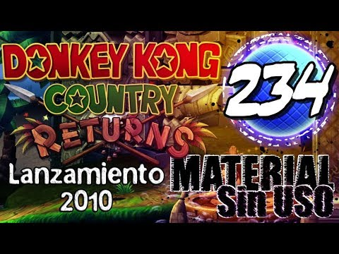 Material sin Uso - Lanzamiento DK Country Returns (Wii)
