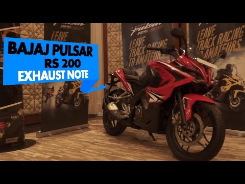 Bajaj Pulsar RS200 Stock Exhaust Note : PowerDrift