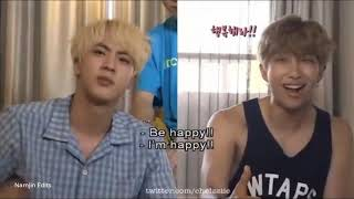 When NamJin Talk/Mention About Each Other
