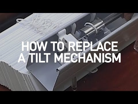 How to Replace a Tilt Mechanism - Blinds.com DIY