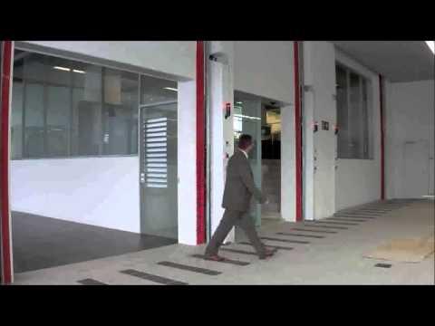 Puerta seccional cortafuegos – Angel Mir (Portes Bisbal SL)