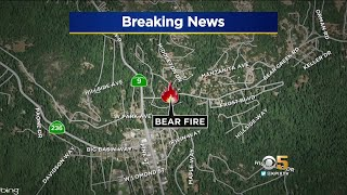 Fire In Santa Cruz Mountains Prompts Evacuations