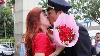 Mối tình vạn người mơ của nữ tiếp viên hàng không VietJet Air và ông trùm hoa hậu