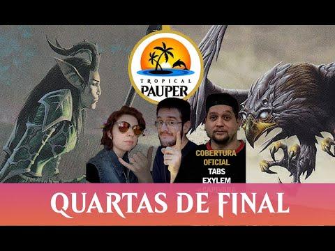 Boros Monarch VS Mono-Green Stompy - Tropical Pauper - Narração ao vivo - Quartas de Final