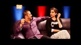 Salman Khan & Sonam Kapoor Exclusive Interview | Prem Ratan Dhan Payo | B4U Starstop Part 1