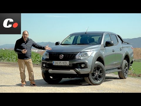 Fiat Fullback pickup | Prueba / Test / Review en español | Desierto de los Niños 2018 | coches.net