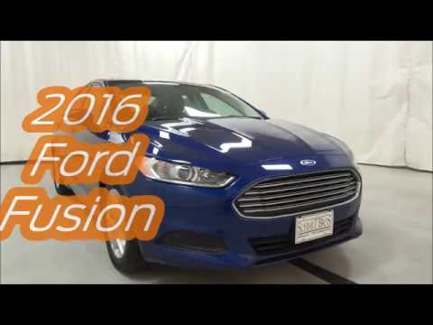 2016 Ford Fusion at Schmit Bros in Saukville, WI!