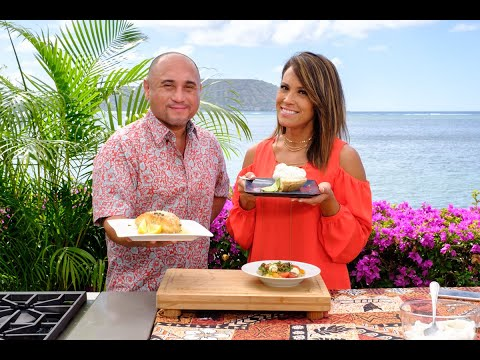 Cooking Hawaiian Style Episode 707 with Kanoa Gibson
