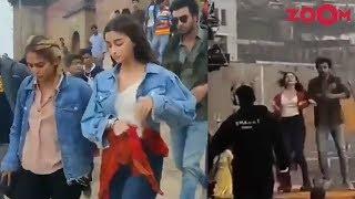 Brahmastra Leaked Video!! Alia Bhatt-Ranbir Kapoor's dance..