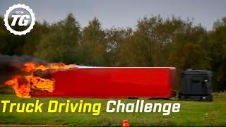 Truck Driving Challenge Part 2: Alpine Course Race - Top Gear - BBC
