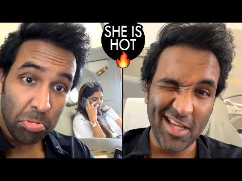 She is hot but…, says Manchu Vishnu in a video recorded on airplane