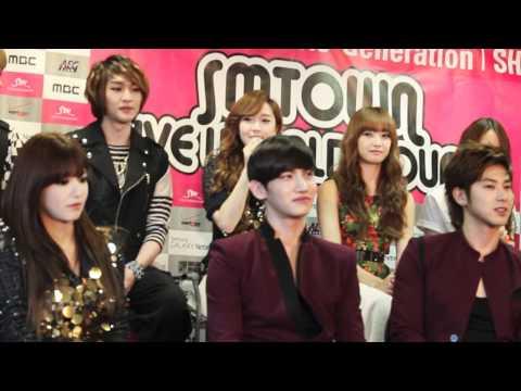 SMTOWN World Tour - Girl's Generation Interview P.1