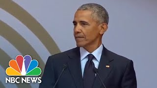 Fmr. President Barack Obama Speaks At Mandela Day (Full) | NBC News