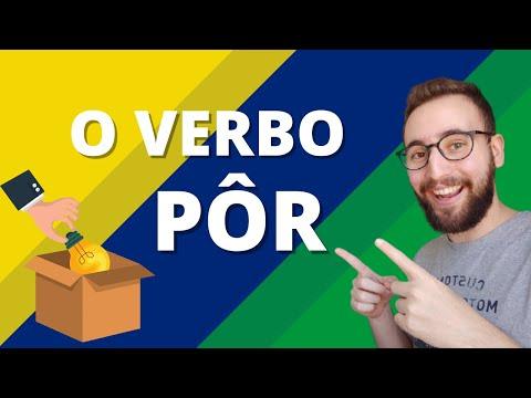 O verbo PÔR, o verbo mais estranho da língua portuguesa | Vou Aprender Português