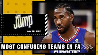 The Jump's most confusing teams in NBA free agency