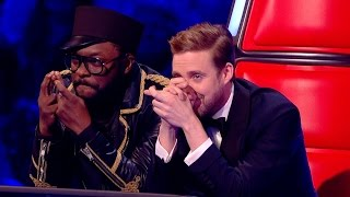 Top blind audition of the voice UK [HD-1080]