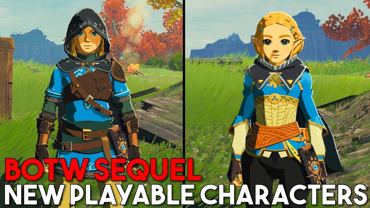 Tube Reader | Breath of the Wild Sequel Characters are now