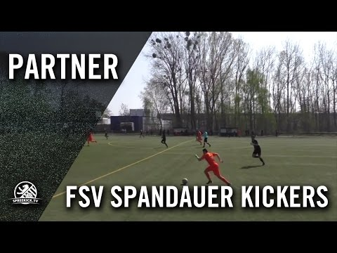 FSV Spandauer Kickers - Berliner SC II (Landesliga, Staffel 2) - Spielszenen | SPREEKICK.TV