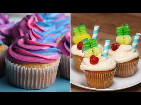 Cupcake Recipes To Impress Your Crafty Friends ? Tasty