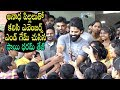 Sai Dharam Tej watches Avengers Endgame movie with Orphans Kids