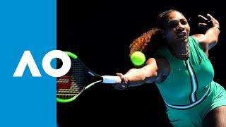 Serena Williams v Dayana Yastremska first set highlights (3R) | Australian Open 2019