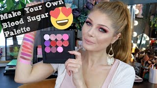 How To: Create Your Own Perfect Jeffree Star Blood Sugar Palette 💉💉💉