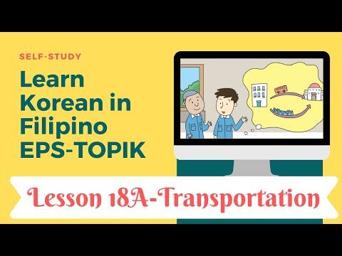 Self-study EPS-TOPIK 18A in Filipino