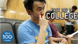 MY FIRST DAY OF COLLEGE! | UCLA Freshman Edition