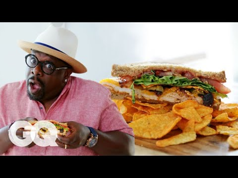 Cedric the Entertainer Makes the World's Greatest Man-wich   GQ