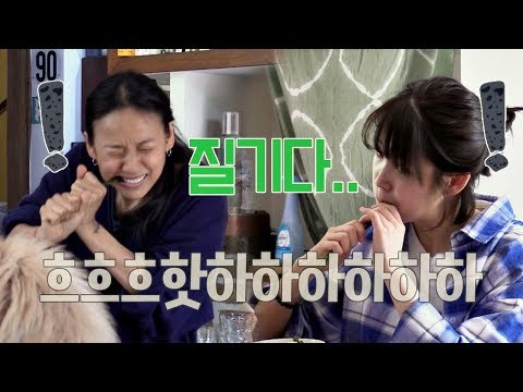 [폭소] 효리x아이유, 질겨도 너무 질긴 양하에 이 빠질 뻔(ㅋㅋ) 효리네 민박 8회