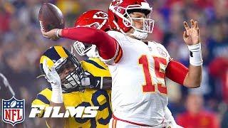 Best Slo-Mo Shots of the 2018 NFL Season