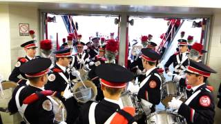 Ohio State Marching Band Enters Skull Session at St John Arena 9 13 2014