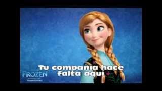 Frozen - ¿Y si hacemos un muñeco? (Letra)