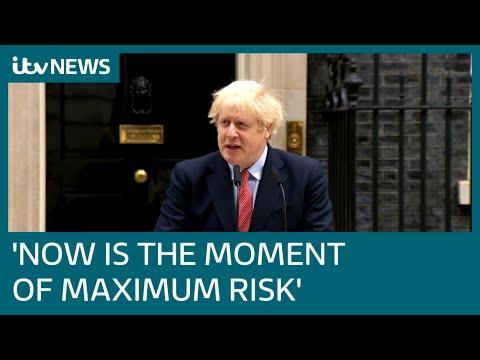 Prime Minister Boris Johnson returns to work after coronavirus recovery | ITV News