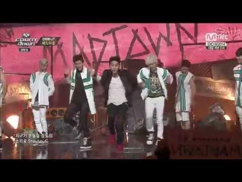 141009 Mnet 엠카운트다운 매드타운 (Madtown) 데뷔무대 - YOLO