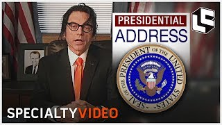 A Special Message from The President of America (Tommy Wiseau)