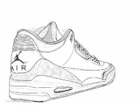 How To Draw Air Jordans