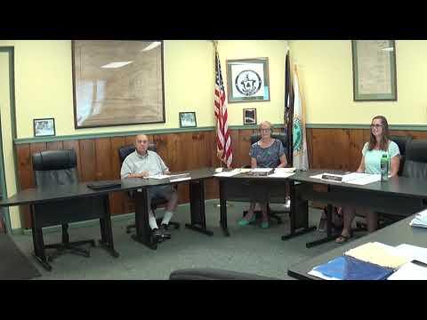 Champlain Village Board Meeting  8-9-21