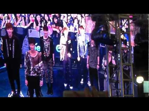120602 EXO-K - Doota Performance - 찬열 and 세훈