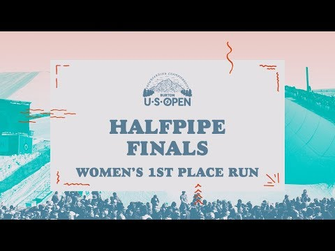 2018 Burton U·S·Open Women?s Halfpipe Finals ? Chloe Kim's Winning Run